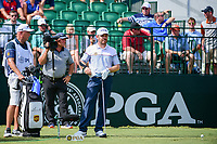 Louis Oosthuizen (RSA) looks over his tee shot on 10 during Sunday's final round of the PGA Championship at the Quail Hollow Club in Charlotte, North Carolina. 8/13/2017.<br /> Picture: Golffile | Ken Murray<br /> <br /> <br /> All photo usage must carry mandatory copyright credit (&copy; Golffile | Ken Murray)