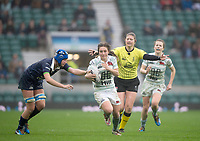 Twickenham, Surrey. UK.  during the 2017 Women's Varsity Rugby Match, Oxford vs Cambridge Universities. RFU Stadium, Twickenham. Surrey, England.<br /> <br /> Thursday  07.12.17  <br /> <br /> [Mandatory Credit Peter SPURRIER/Intersport Images]