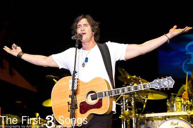 Joe Nichols performs during the 2013 ACM Concerts at Fremont Street Experience Event in Las Vegas, Nevada.