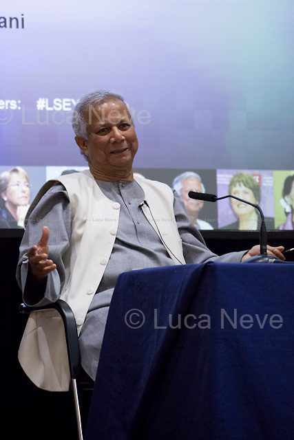 Professor Muhammad Yunus.<br />