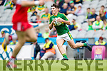 Kerry in action against Derry in the All Ireland Minor Quarter Final at Croke Park on Sunday.