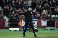 West Ham Coach Stuart Pearce during the Premier League match between West Ham United and Arsenal at the Olympic Park, London, England on 13 December 2017. Photo by Andy Rowland.