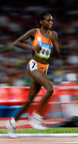 15 AUG 2008 - BEIJING, CHN - Hilda Kibet (NED) -  Beijing Olympics. (PHOTO (C) NIGEL FARROW) *** IOC RULES APPLY ON USAGE ***