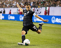 CHICAGO, IL - JULY 7: Andres Guardado #18 during a game between Mexico and USMNT at Soldiers Field on July 7, 2019 in Chicago, Illinois.