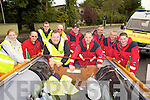 Members of the Ballybunion Sea & Cliff Rescue Team getting ready for   a boat push from Abbeyfeale to Ballybunion last Saturday. .L-R Lorraine Kennedy, John Walsh, Jonathon Mahoney, Joby Costello, Willie Joe Finnuncan,  PJ O'Gorman,  Brian Mannion, Frankie Cannon, Gearoid O'Connor, Omar Fitzell.