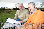 Kevin and Tim O'Donoghue, Killarney, who have applied for planning permission for a family entertainment centre, including a crazy golf course, childrens museum and a climbing wall on a site off Park Road in the town.