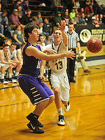 NWA Democrat-Gazette/MICHAEL WOODS • @NWAMICHAELW<br /> The Elkins Elks take on the West Fork Tigers Tuesday, February 2, 2016 in West Fork.
