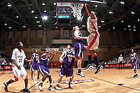 SAN ANTONIO, TX - MARCH 7, 2009: The Stephen F. Austin University Lumberjacks vs. The University of Texas at San Antonio Roadrunners Men's Basketball at the UTSA Convocation Center. (Photo by Jeff Huehn)