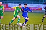 Kerry's John McDonough and Limerick F.C.'s John O'Connor..