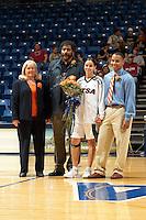 SAN ANTONIO, TX - FEBRUARY 25, 2006: The Sam Houston State University Bearkats vs. The University of Texas at San Antonio Roadrunners Women's Basketball at the UTSA Convocation Center. (Photo by Jeff Huehn)