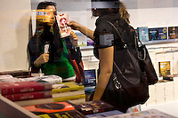 08/05/2008 Torino: XXI fiera internazionale del libro..Turin: International Book Fair