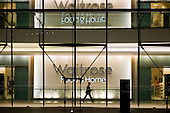 Late night opening at a Waitrose store in Canary Wharf, London Docklands.