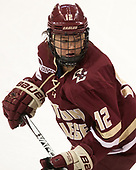 Kenzie Kent (BC - 12) - The Boston College Eagles defeated the Boston University Terriers 3-2 in the first round of the Beanpot on Monday, January 31, 2017, at Matthews Arena in Boston, Massachusetts.