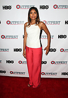 "WEST HOLLYWOOD, CA July 11- Anisha Adusumilli,  At 2017 Outfest Los Angeles LGBT Film Festival Screening of ""Hello Again"" at The DGA Theater, California on July 11, 2017. Credit: Faye Sadou/MediaPunch"