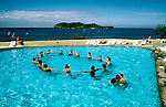 Mexico: Ixtapa..Pool at Club Med. .Photo Copyright Lee Foster, www.fostertravel.com. .Photo #: mxixta103, 510/549-2202, lee@fostertravel.com