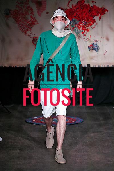 Londres, Inglaterra &ndash; 06/2014 - Desfile de Maharishi durante a Semana de moda masculina de Londres - Verao 2015. <br /> Foto: FOTOSITE