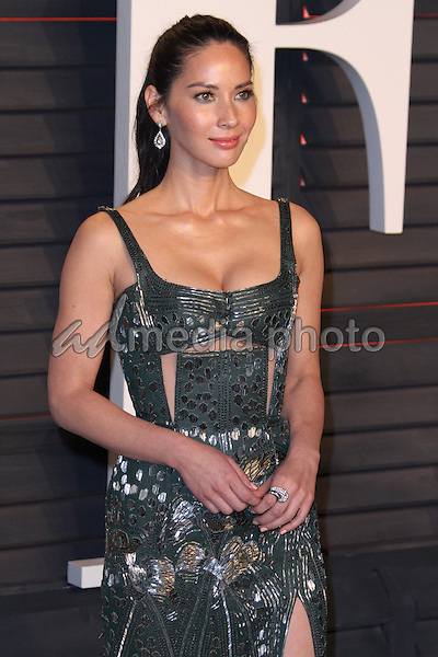 28 February 2016 - Beverly Hills, California - Olivia Munn. 2016 Vanity Fair Oscar Party hosted by Graydon Carter following the 88th Academy Awards held at the Wallis Annenberg Center for the Performing Arts. Photo Credit: AdMedia