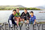 Regatta supporters from Cahersiveen and Valentia at the Over The Water Regatta on Sunday were l-r; Timothy O'Sullivan, Joe Lynch, Denis O'Driscoll & Josh O'Sullivan.