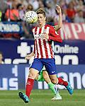 Atletico de Madrid's Fernando Torres during La Liga match.September 22,2015. (ALTERPHOTOS/Acero)