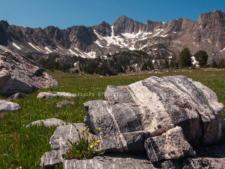 Beehive Basin,Madison Mountain Range,Montana