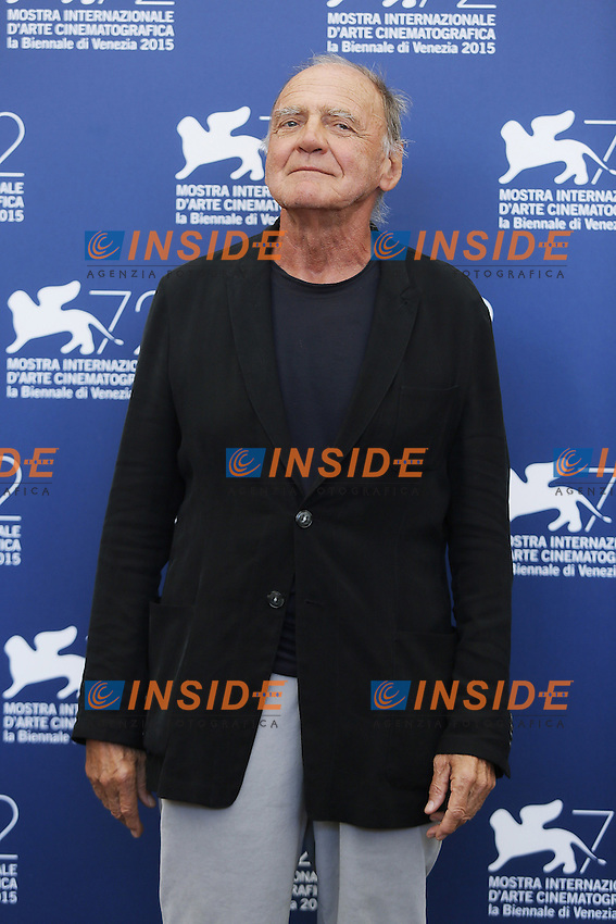 VENICE, ITALY - SEPTEMBER 10: Bruno Ganz attends 'Remember' Photocall during 72nd Venice Film Festival at Palazzo Del Cinema on September 10, 2015 in Venice, Italy. (Mark Cape/insidefoto)