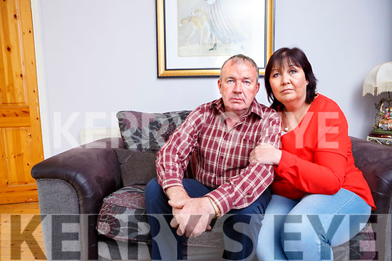 Peter O'Connor Milltown who is fighting Lyme Disease  with the help of his wife Ann Marie
