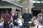 Scottish actor Dougray Scott  enjoying the golf during the practice round.<br /> Celebrity Cup Golf<br /> Celtic Manor Resort<br /> 04.07.14<br /> &copy;Steve Pope-SPORTINGWALES