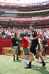 09 August 2009: DC's Santino Quaranta. Real Madrid of Spain's La Liga defeated DC United of Major League Soccer 3-0 at FedEx Field in Landover, Maryland in an international club friendly soccer match.