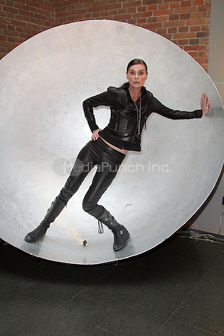 Lisa Stansfield attending a photocall to promote her album and tour &quot;Seven&quot; held at Moewenpick hotel, Hamburg, Germany, 31.01.2014. <br /> Photo by Christopher Tamcke/insight media /MediaPunch ***FOR USA ONLY***