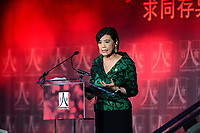 Washington, DC - May 18, 2017: U.S. Representative Judy Chu speaks at the C100 Annual Awards dinner held at the Ronald Reagan building in the District of Columbia May 18, 2017. The C100 is a group of American Citizens of Chinese heritage who have distinguished themselves through extraordinary achievements.  (Photo by Don Baxter/Media Images International)