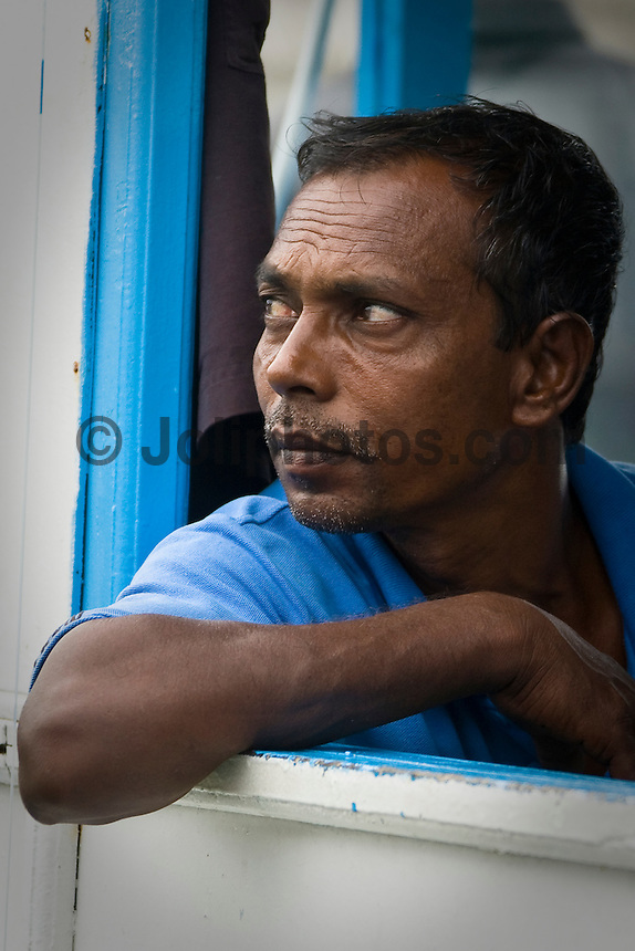 A local man in the Maldives (Wednesday, June 10th, 2009). Photo: joliphotos.com
