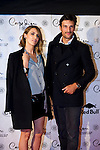 Laura Vecino (left) and Rafael Medina (right) attend the 10th anniversary celebration 'CDLC Carpe Diem: 10 years, the birthday' of CDLC Carpe Diem Lounge Club on November 8, 2013 in Barcelona, Spain. (ALTERPHOTOS/Alex Caparros)