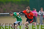 Cathal Moriarty Milltown/Castlemaine takes on Brian Murphy Clondegad in the quarter final of the Munster Intermediate Club championship at Milltown on Sunday
