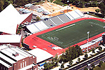 Aerial view of Villanova University sports stadium
