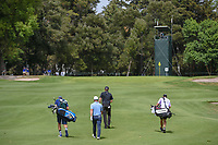 Webb Simpson (USA) and Paul Casey (GBR) approach the green on 14 during round 2 of the World Golf Championships, Mexico, Club De Golf Chapultepec, Mexico City, Mexico. 2/22/2019.<br /> Picture: Golffile | Ken Murray<br /> <br /> <br /> All photo usage must carry mandatory copyright credit (&copy; Golffile | Ken Murray)