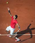 Rafael Nadal (ESP) Defeats Simone Bolelli (ITA) 6-2, 6-2, 6-1