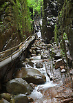 The Flume at Franconia Notch State Park, Vermont