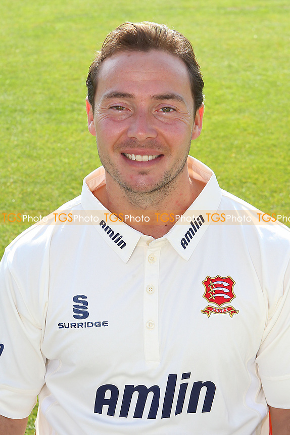 Graham Napier of Essex CCC in LV County Championship kit - Essex CCC Press Day at the Essex County Ground, Chelmsford - 01/04/14 - MANDATORY CREDIT: Gavin Ellis/TGSPHOTO - Self billing applies where appropriate - 0845 094 6026 - contact@tgsphoto.co.uk - NO UNPAID USE