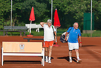 August 24, 2014, Netherlands, Amstelveen, De Kegel, National Veterans Championships,  Mixed doubles<br /> Photo: Tennisimages/Henk Koster