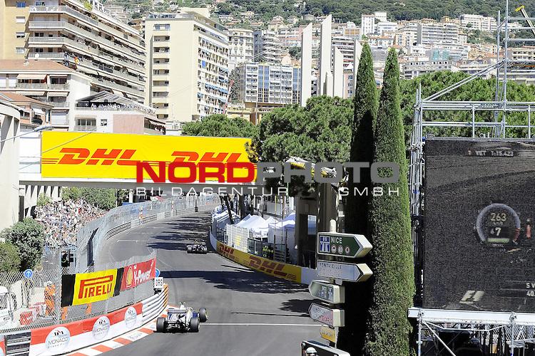 28.05.2011, Circuit de Monaco, Monte Carlo, MCO, Großer Preis von Monaco, Monte Carlo, RACE 06, im Bild  DHL Branding - Pastor Maldonado (VEN) Williams GP    Foto © nph / Dieter Mathis