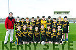Gaelscoil Aogain, Castleisland  at the Allianz Cumann na mBunscol against Gaelscoil Mhic Easmainn  at Austin Stack Park on Monday