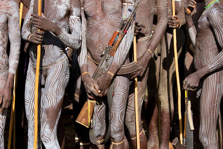 Surma tribe man