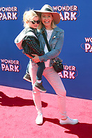 LOS ANGELES - MAR 10:  Hutton Michael Cameron, Beverley Mitchell at the Wonder Park Premiere at the Village Theater on March 10, 2019 in Westwood, CA