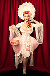 Burlesque Dancer Melody Mangler at Burlesque Hall of Fame Exotic World