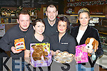 Having a great time at the Chrismas toy appeal party in the Brown Sugar Café, Killarney on Friday was l-r: Derek Daly, Fionn O'Shea, Bartosz Skierniewski, Janet Moriarty and Monika Figat....