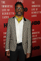 www.acepixs.com<br /> April 18, 2017  New York City<br /> <br /> Billy Porter attending 'The Immortal Life of Henrietta Lacks' premiere at SVA Theater on April 18, 2017 in New York City.<br /> <br /> Credit: Kristin Callahan/ACE Pictures<br /> <br /> <br /> Tel: 646 769 0430<br /> Email: info@acepixs.com