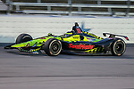 Dale Coyne Racing with Vasser-Sullivan driver Sebastien Bourdais (18) of France in action during the DXC Technology 600 race at Texas Motor Speedway in Fort Worth,Texas.