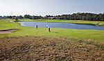 DEN DOLDER - Golfsocieteit De Lage Vuursche, Hole 2. FOTO KOEN SUYK