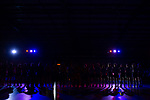 Mannheim, Germany, November 29: During the Bundesliga indoor women hockey match between Mannheimer HC and TSV Mannheim on November 29, 2019 at Irma-Roechling-Halle in Mannheim, Germany. Final score 4-4. <br /> <br /> Foto © PIX-Sportfotos *** Foto ist honorarpflichtig! *** Auf Anfrage in hoeherer Qualitaet/Aufloesung. Belegexemplar erbeten. Veroeffentlichung ausschliesslich fuer journalistisch-publizistische Zwecke. For editorial use only.
