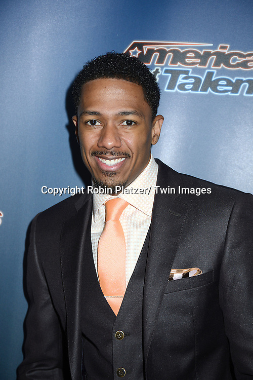 Nick Cannon attends the America's Got Talent Red Carpet before auditions on April 4, 2014 at Madison Square Garden in New York City.